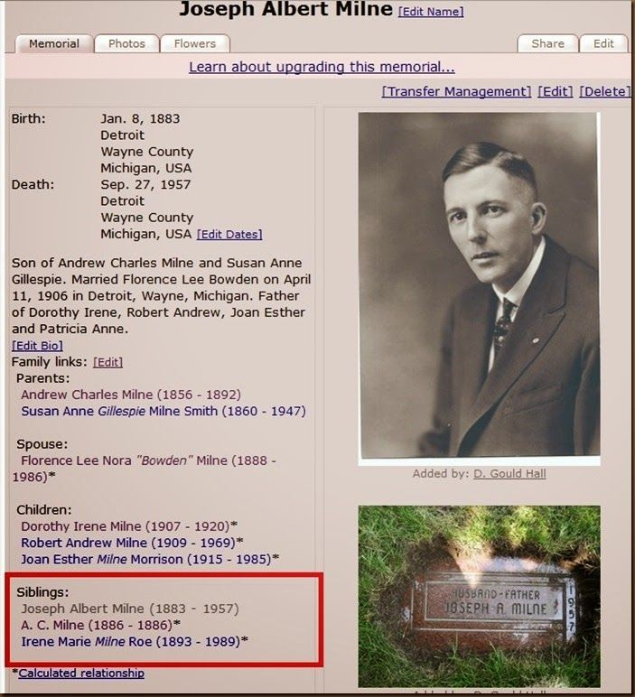 FindAGrave.com has made changes and now adds sibling links to memorials automatically.  Read about it in my blog. This is a great new addition to the site.