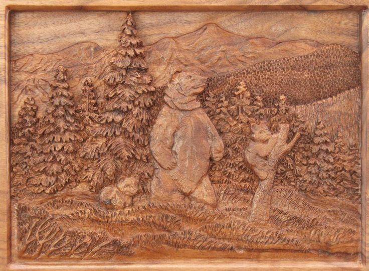 Images about carving landscape trees on pinterest