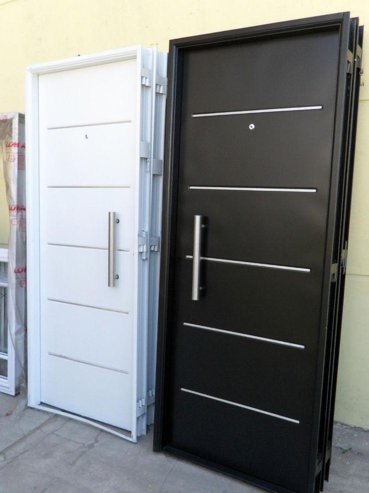 10 ideas sobre puertas de aluminio exterior en pinterest for Puertas de metal con diseno
