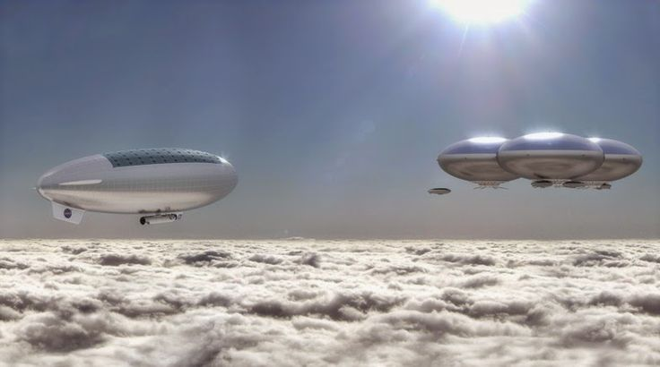 Tecnoneo: La NASA quiere explorar Venus con globos inflables habitables