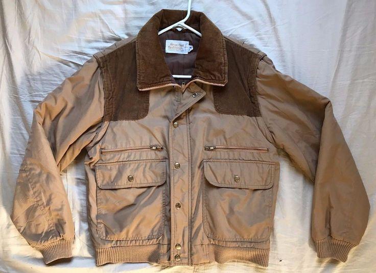 Men's vintage Fingerhut Fashions hunting shooting jacket vest size M