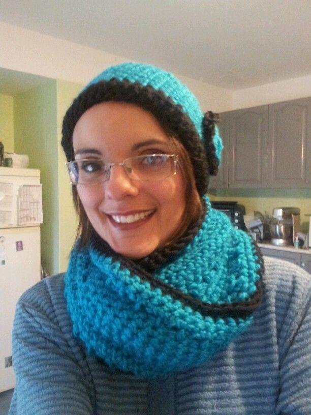 Sciarpa e cappellino - uncinetto - crochet