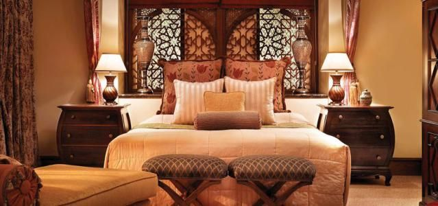 Sumptuous, Exotic Bedroom Ideas: Bedroom Influenced By the Arabian Peninsula