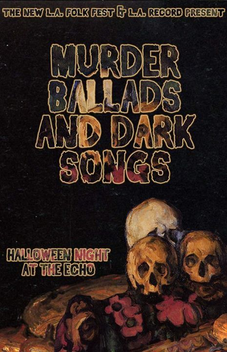 I'm playing with Ocha La Rocha Halloween night at The Echo. Also performing: RT N the 44s, Tommy Santee Klaws, Bloody Death Skull, The Herbert Bail Orchestra, The Dustbowl Revival and more! https://www.facebook.com/events/217829575050981/