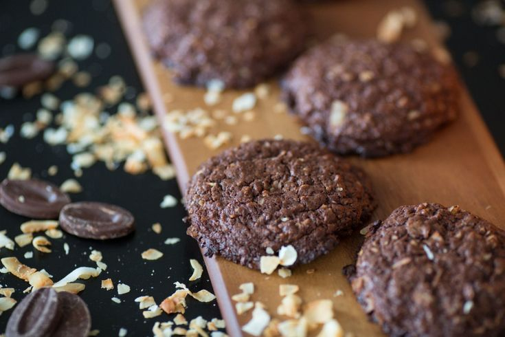 David Chow's coveted chocolate coconut cookies in Randomness curated by Toral Varia