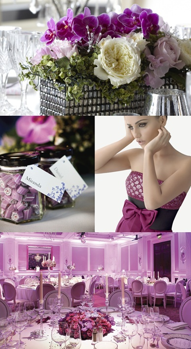 Purple #wedding inspiration from Modern Wedding.
