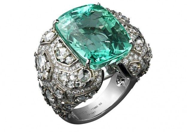 Anello con smeraldo 22 carati di Cartier