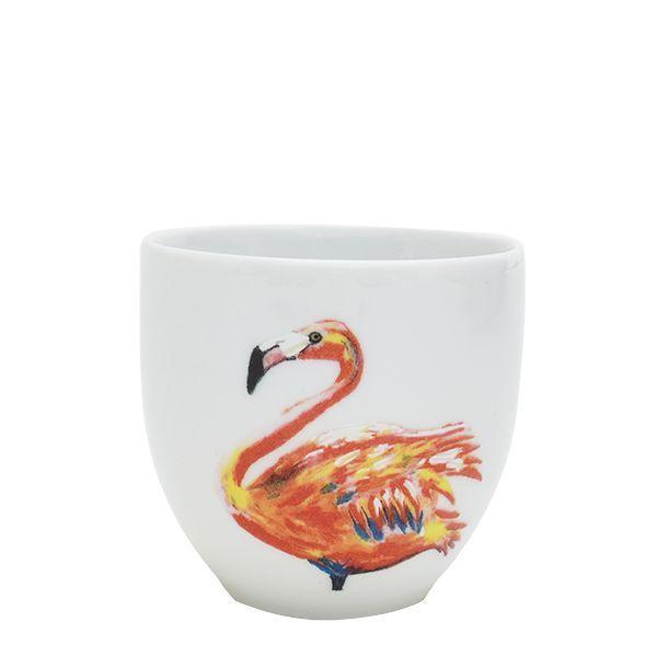 Flamingo koffiekop - Flamingo koffiekop. De kleurrijke dessins van Catchii 'simply make you smile every day'! Deze koffiekop met flamingo illustratie geeft een instant summer vibe. Shop deze koffiekop als cadeau voor jezelf of voor een ander bij de Glamour Concept Store.