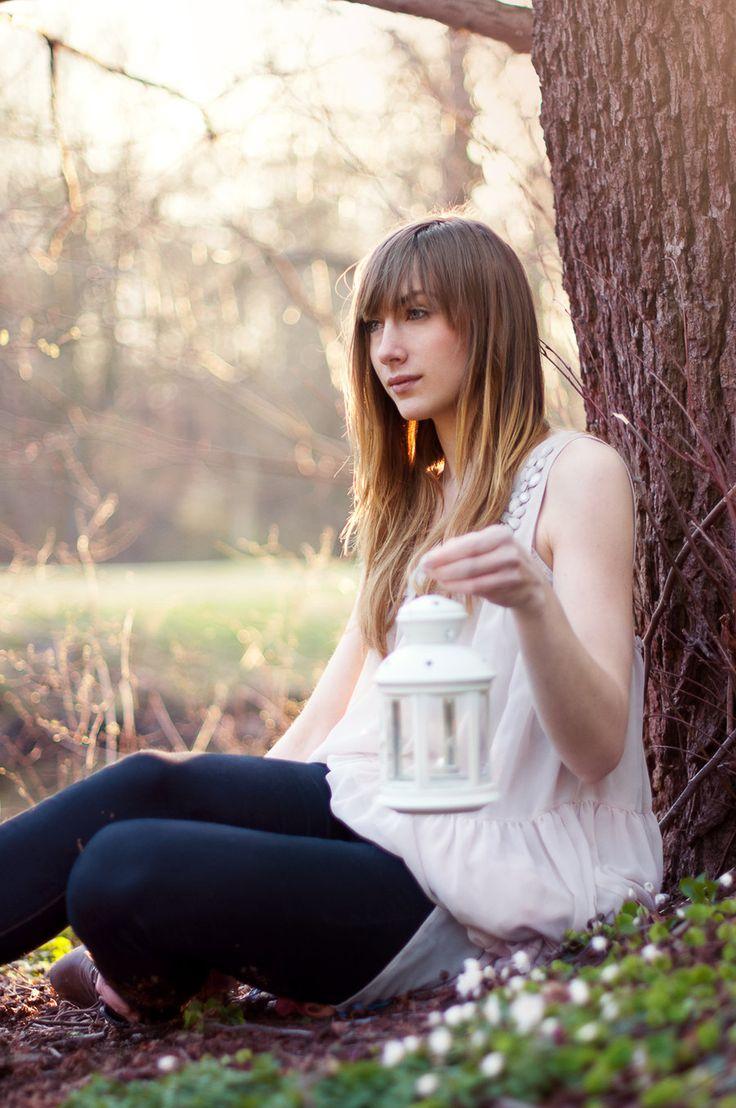 Photo & Edit: Clara Schöbel Model Seija https://www.facebook.com/claraschoebelphotography  Little white latern by ClaraSchoebel.deviantart.com on @deviantART