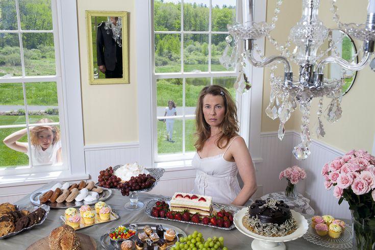 "#SusanCopich solo show ""Domestic Bliss"" opens Sat Aug 1-23 at Cross #ContemporaryArt #Saugerties #photography #photos"