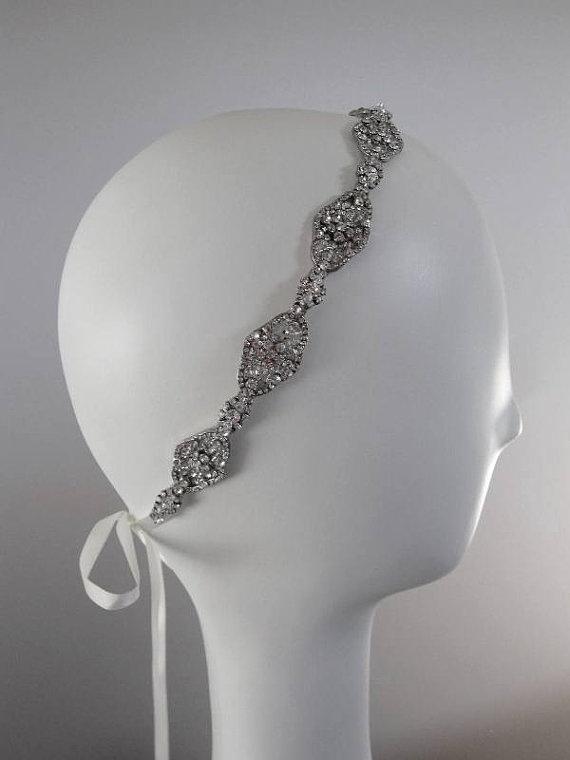 ribbon headband wedding ribbon headbands and bridal headbands