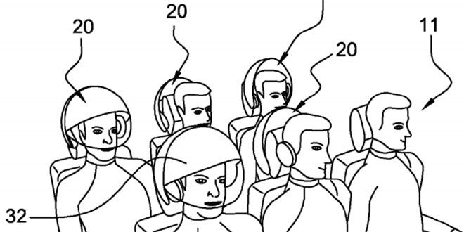 Airbus Patents a VR Helmet That'll Make You Forget You're on a Plane. If Airbus does bring this to market, it should include a setting to virtually transport yourself to first class.