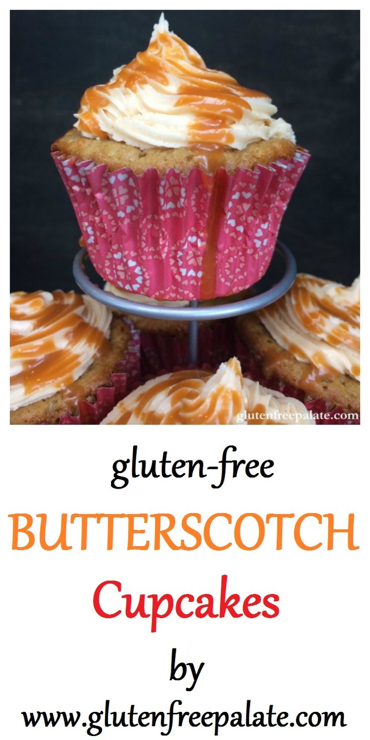 These Gluten-Free Butterscotch Cupcakes are rich, tender, and outstanding! You will be asking yourself why you hadn't made them before.