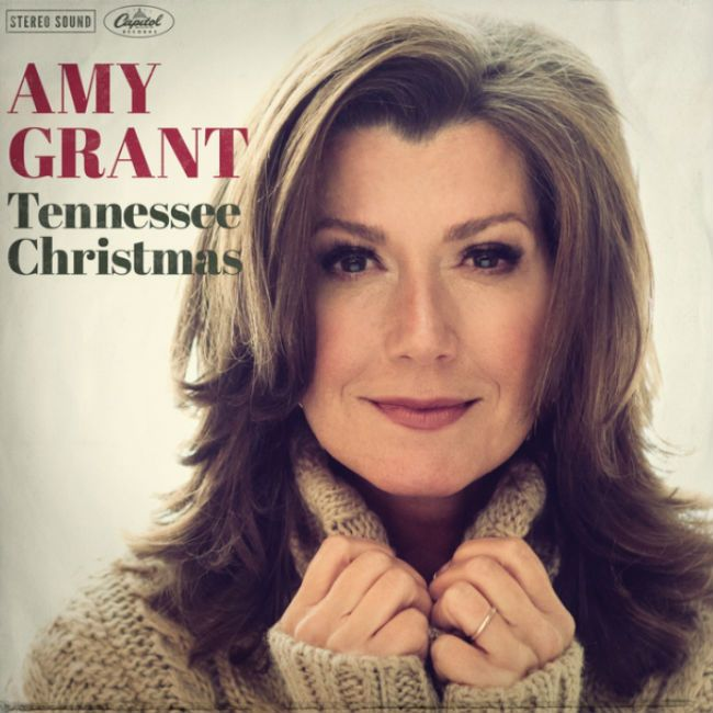 On 5th day of Christmas ... I listened to Amy Grant's new Christmas album