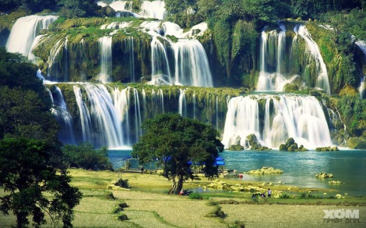 Travel to Vietnam and visit Ban Gioc Waterfall