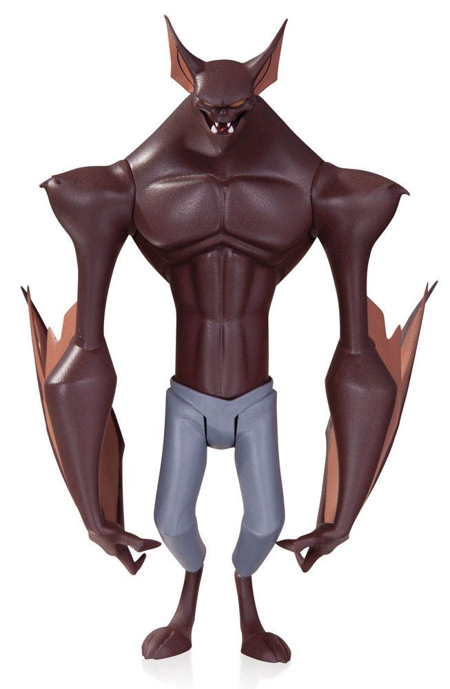 Figura Man-Bat 17 cm. Batman: The Animated Series. DC Collectibles Estupenda recreación de Man-Bat el hombre murciélago malvado de 17 cm, articulada y 100% oficial y licenciada perteneciente a la serie de TV de 1992 Batman: The Animated Series.