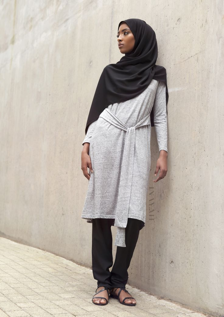 INAYAH | Summer day wear favourites: Grey #Cotton Blend Blended #Midi + Black…