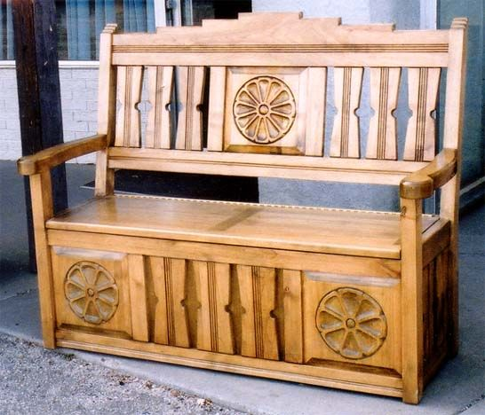 1000 Images About Colonial Benches On Pinterest Spanish