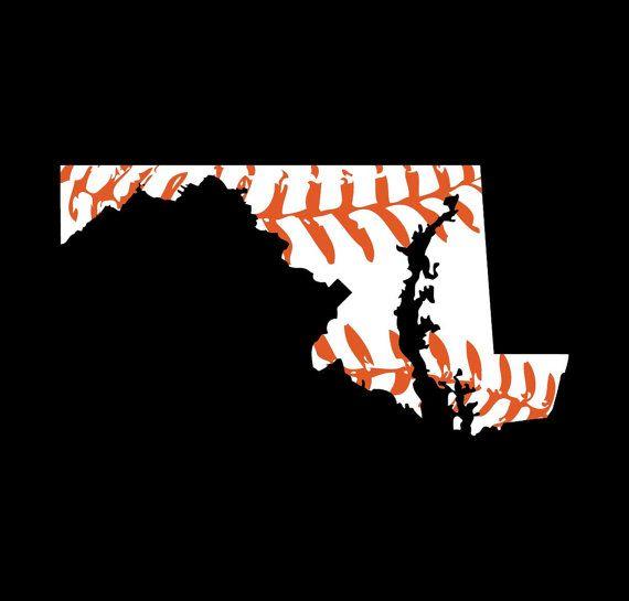 Maryland baseball t-shirt Baltimore Orioles colors Buy Any 3 Shirts Get 1 FREE