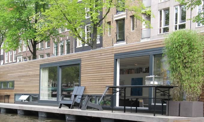 Luxury houseboat on Prinsengracht | Amsterdam