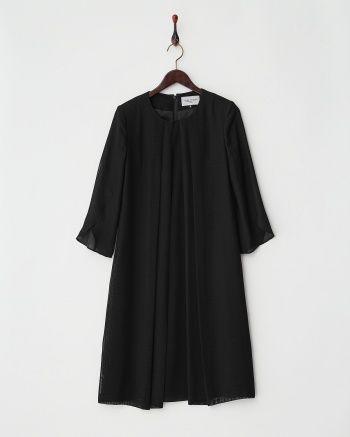 ブラック 米沢織り重ねワンピース - BLACK FORMAL COLLECTION|ブランド通販(セール)なら【グラムール セールス】