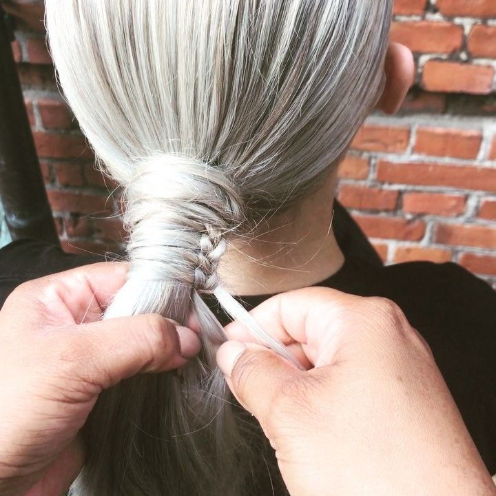 "Naeemah LaFond on Instagram: ""THE CHINESE STAIRCASE BRAID (straight version)! #braidsfordays #braiding #braids #Braided • • • • • #behindthechair #hairlife #hairlove…"""