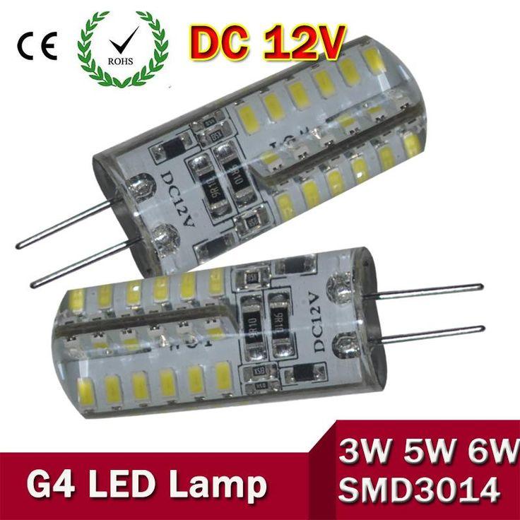 G4 LED 12V Lamp DC Led Bulb Light 3W 5W 6W Replace Halogen Lamp 360 Beam Angle SMD3014 SMD2835 Corn Light