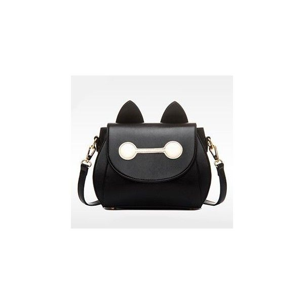 Cat-Accent Cross Bag (€36) ❤ liked on Polyvore featuring bags, handbags, shoulder bags, accessories, cross handbags, shoulder strap purses, cross shoulder handbags, beige shoulder bag and beige purse
