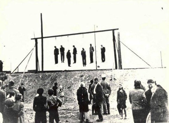 The inmates of Plaszow were often forced to watch the execution of other prisoners – people who had been condemned for trivial reasons or none.