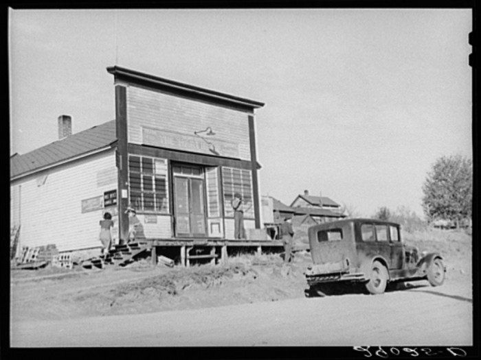 15. The old general store in Lamoille.