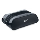 Nike Club Shoe Tote, Black/Silver (Sports)By Nike