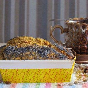 Кукурузный хлеб с мёдом