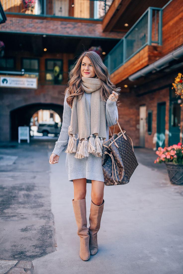 cutest sweater dress!! 13