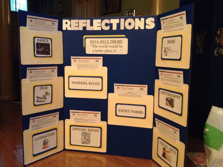 Our PTA Reflections Display 2014-2015 SY