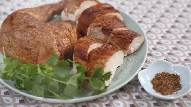 5 Spice Asian Style Roasted Soy Sauce Chicken Recipe