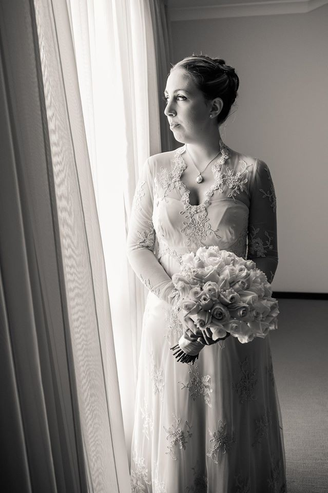 Laura's classic lace wedding dress http://www.arcarocouture.com.au/laura/