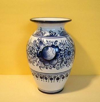 Váza - ručně malovaná keramika