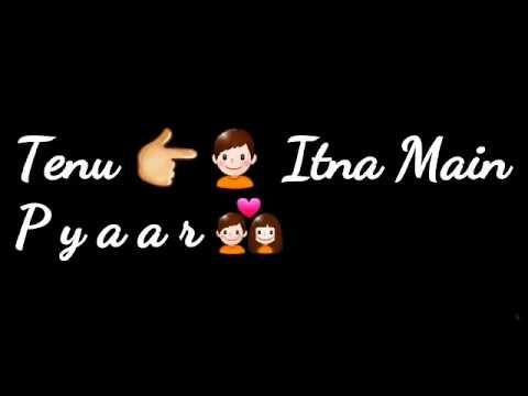 Tere Sang Yaara Female Version || Love Song Lyrics || WhatsApp Status - YouTube