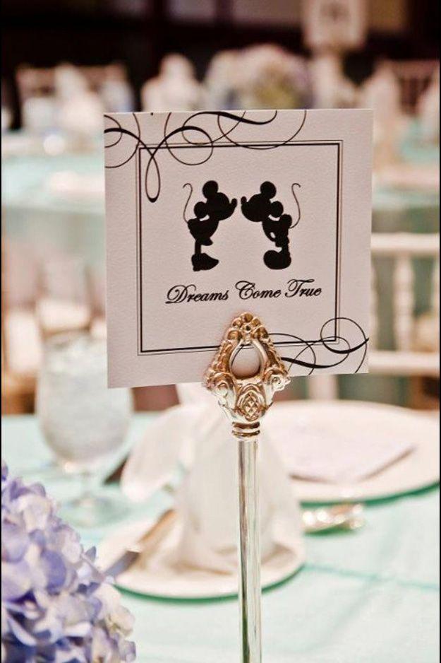 30 amazing wedding table name ideas - Disney Magic   CHWV