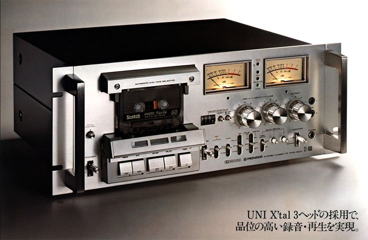 PIONEER CT-F1000.  I had one of these.  Loved it.  Problem was that the capstan motors burn out prematurely.  Bummer indeed.  Replaced mine twice, then sold it to a Pioneer audiophile in France where it's still running strong.  =)