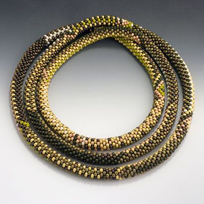 The 65 Best Images About Bead Crochet On Pinterest Bead Necklaces