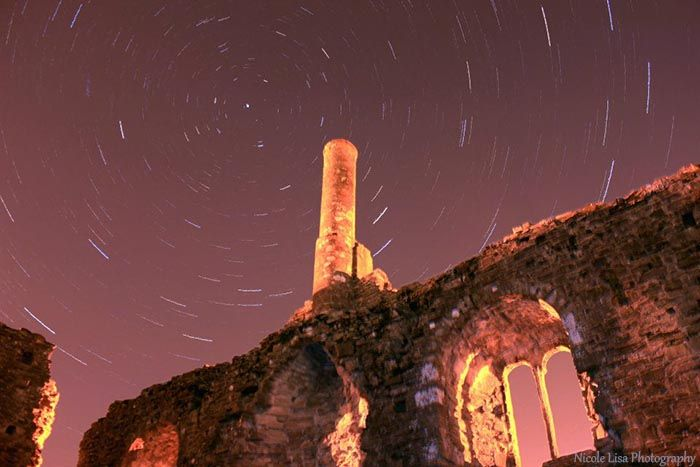 Christchurch Castle Star Trails - Nicole Lisa Photography