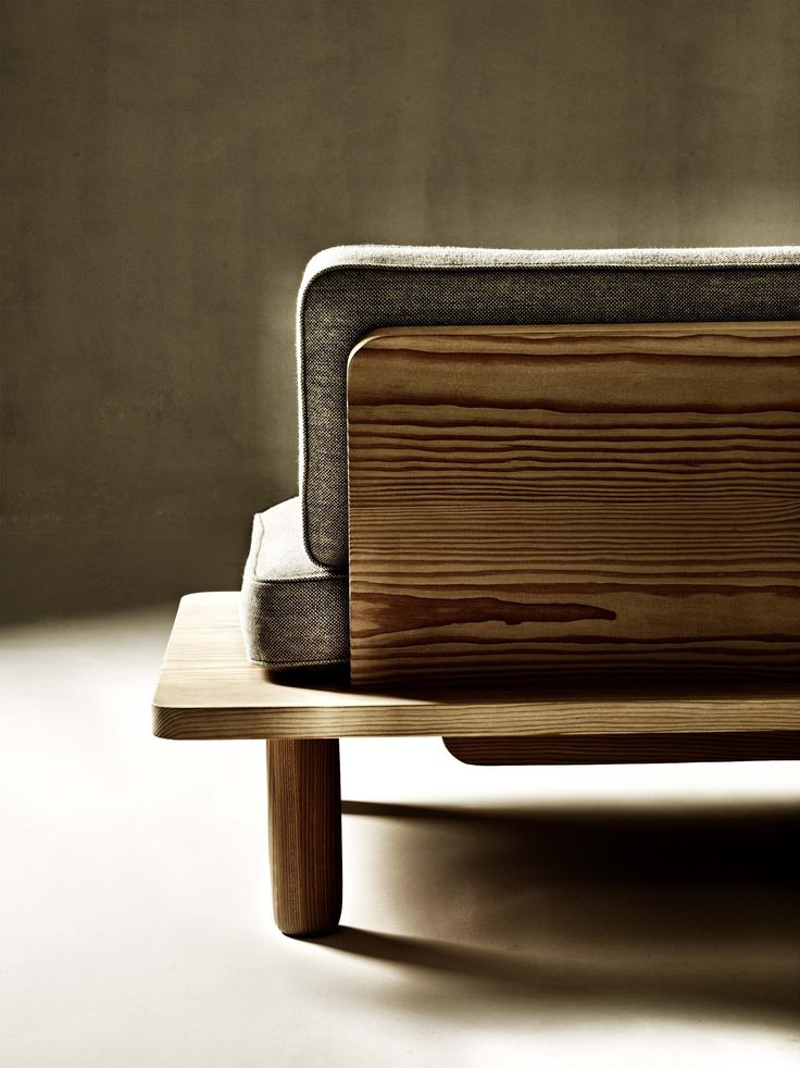 Living Room / Wood frame sofa / dk3.dk - PLANK SOFA