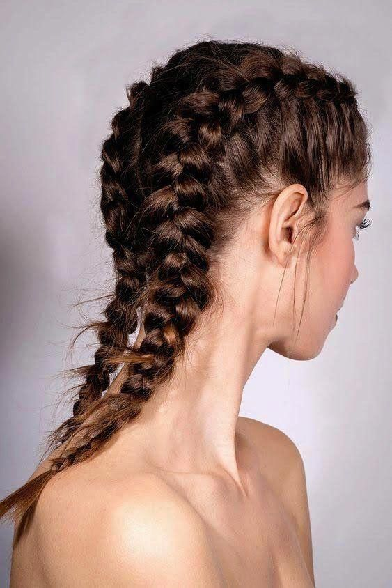 boxer braids summer hairstyle #InterestingThings