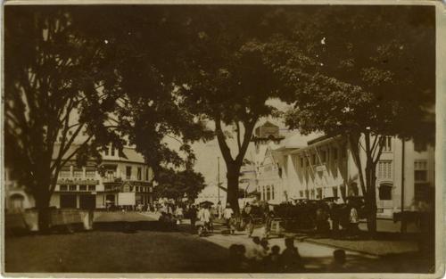 """Bandoeng"" | Colonial Bandung town Source: Leiden University Libraries"