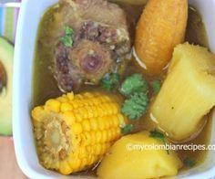 Sancocho de Cola (Oxtail Colombian Soup)                | My Colombian Recipes   I love these Soups!