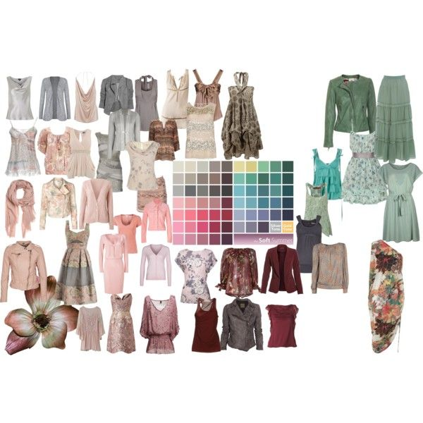 Soft Summer Color Palette 2