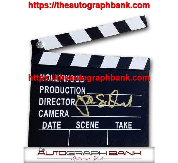 This is a beautiful autograph of John Lee Hancock. All of our autographs were obtained inperson and come with a Certificate of Authenticity. To see more check us out on theautographbank.com