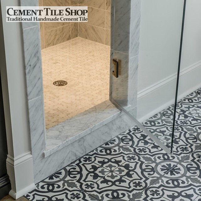 Cement Tile Shop - Handmade cement Tile | Amalia Black ...