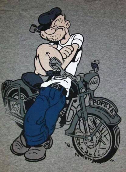 Popeye's got it!